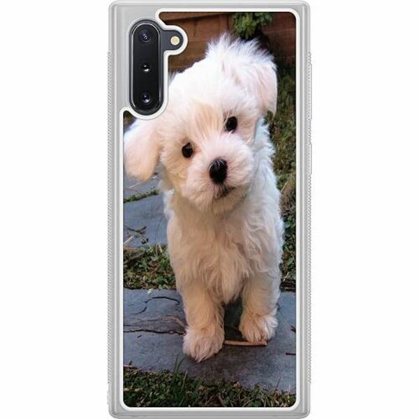 Samsung Galaxy Note 10 Soft Case (Frostad) Hund