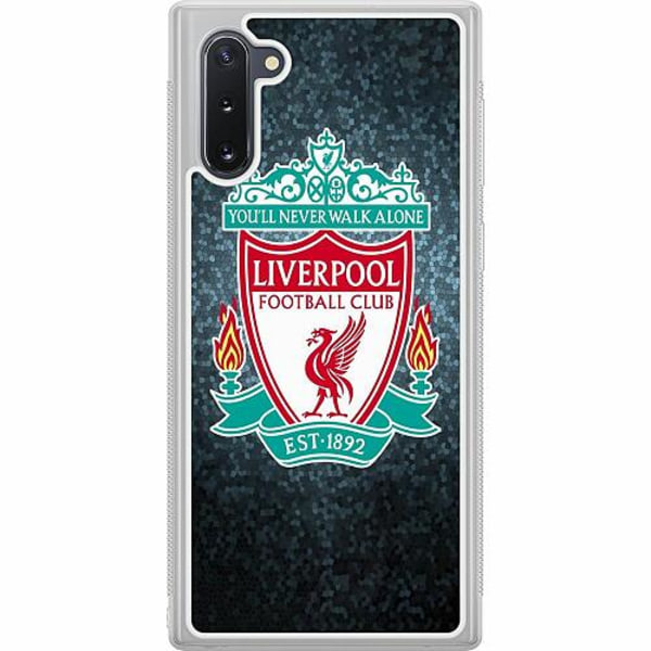 Samsung Galaxy Note 10 Soft Case (Frostad) Liverpool