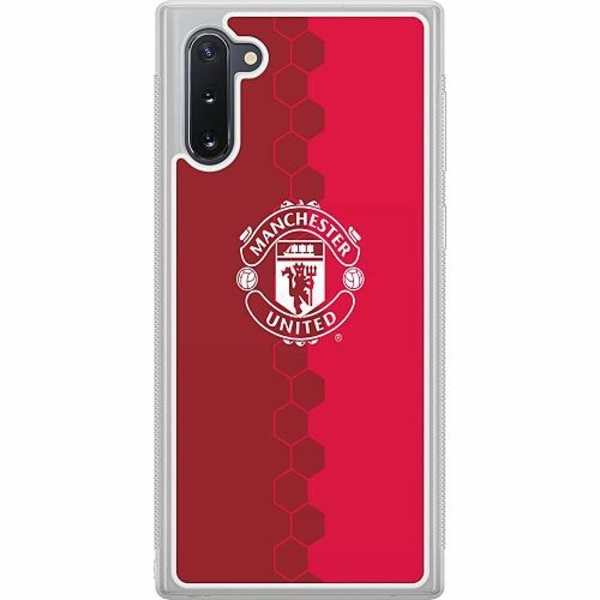 Samsung Galaxy Note 10 Soft Case (Frostad) Manchester United FC