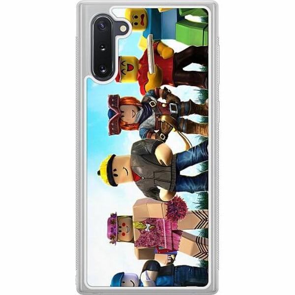 Samsung Galaxy Note 10 Soft Case (Frostad) Roblox