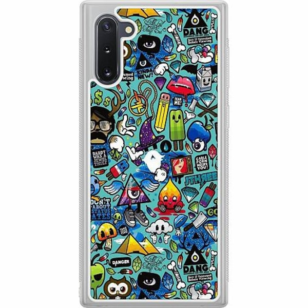 Samsung Galaxy Note 10 Soft Case (Frostad) Stickers