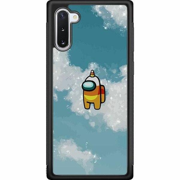 Samsung Galaxy Note 10 Soft Case (Svart) Among Us