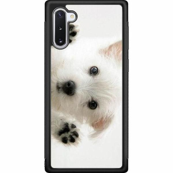 Samsung Galaxy Note 10 Soft Case (Svart) Hund