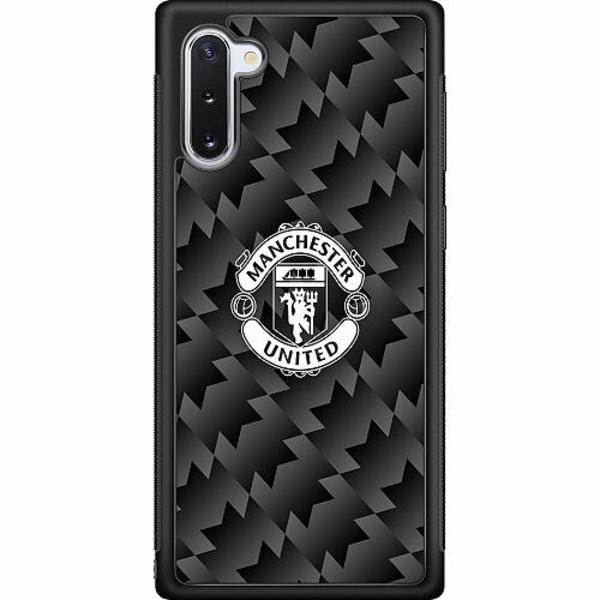 Samsung Galaxy Note 10 Soft Case (Svart) Manchester United FC
