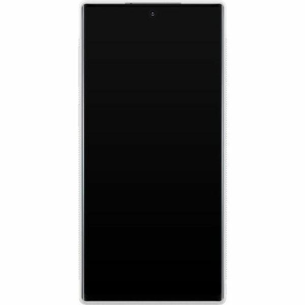 Samsung Galaxy Note 10 Soft Case (Vit) Billie Eilish 2021
