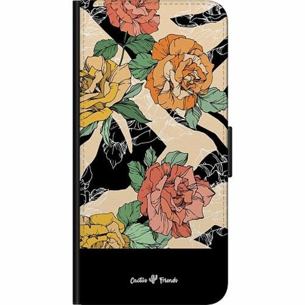 Samsung Galaxy Note 20 Fodralväska Animal Blossom Split
