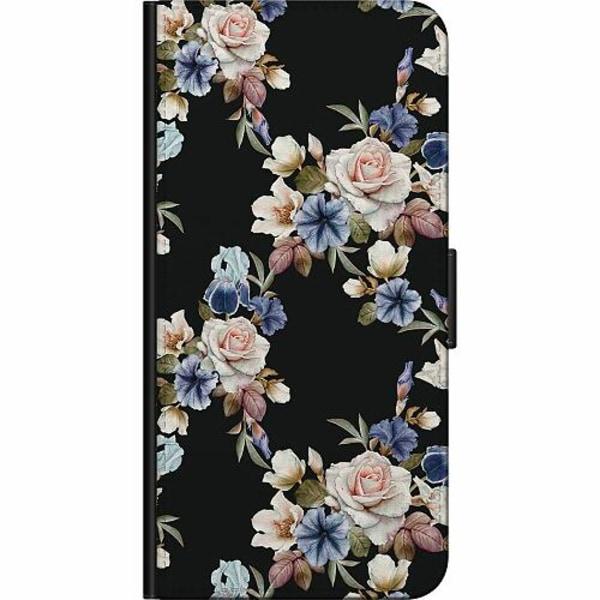 Samsung Galaxy Note 20 Fodralväska Blommor