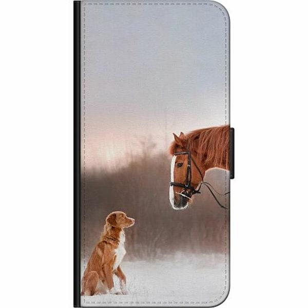 Samsung Galaxy Note 20 Fodralväska Häst & Hund
