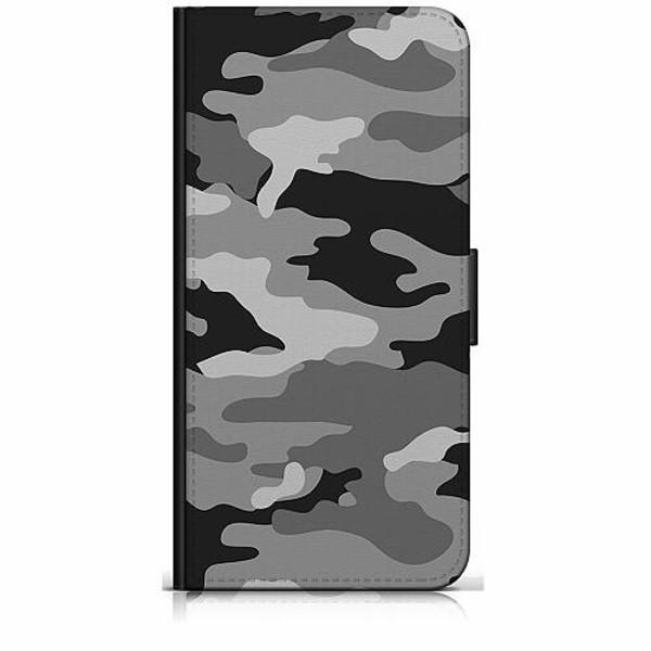 Samsung Galaxy Note 20 Plånboksfodral Military B/W