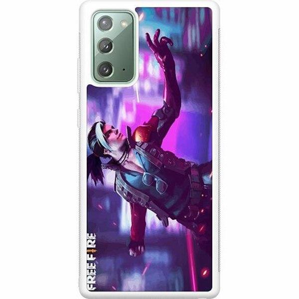 Samsung Galaxy Note 20 Soft Case (Vit) Free Fire