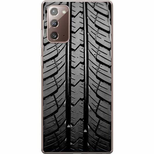 Samsung Galaxy Note 20 TPU Mobilskal Däckmönster