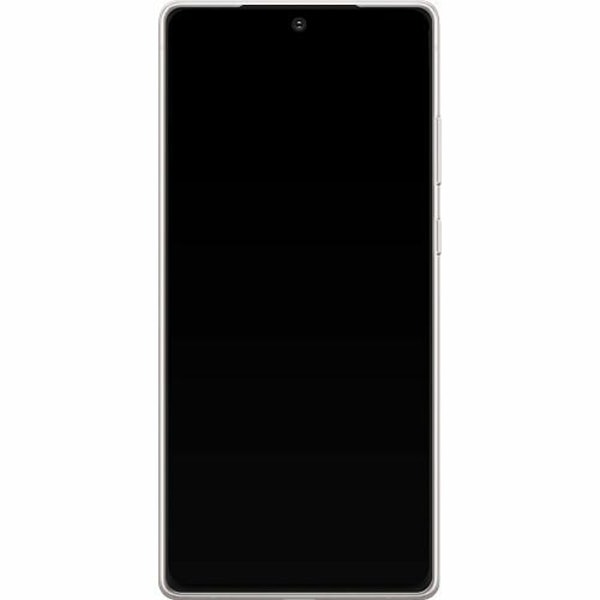 Samsung Galaxy Note 20 TPU Mobilskal Fluffy Flowers
