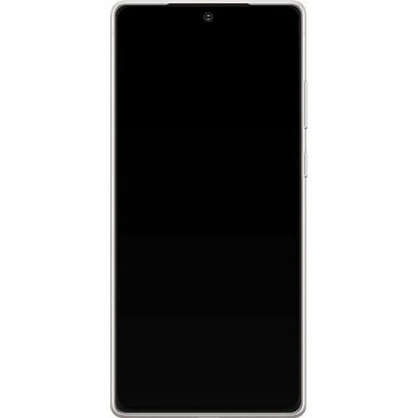 Samsung Galaxy Note 20 TPU Mobilskal Marmor Vit
