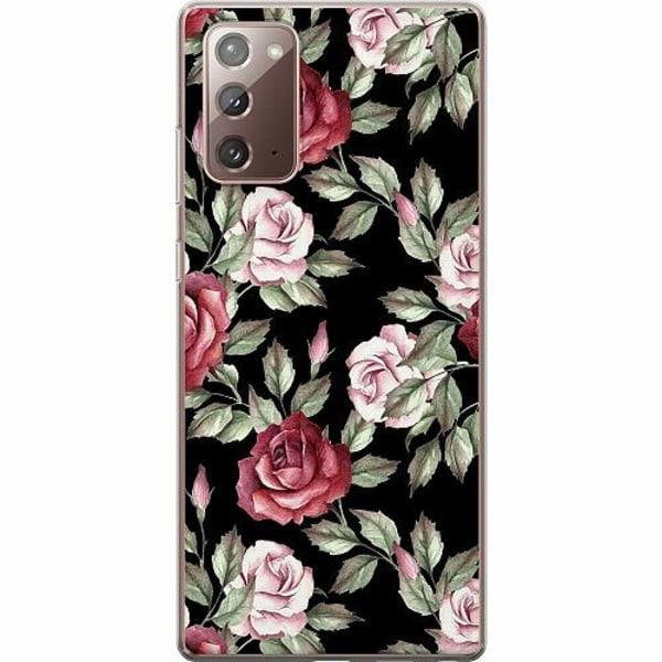 Samsung Galaxy Note 20 TPU Mobilskal Floral Dream