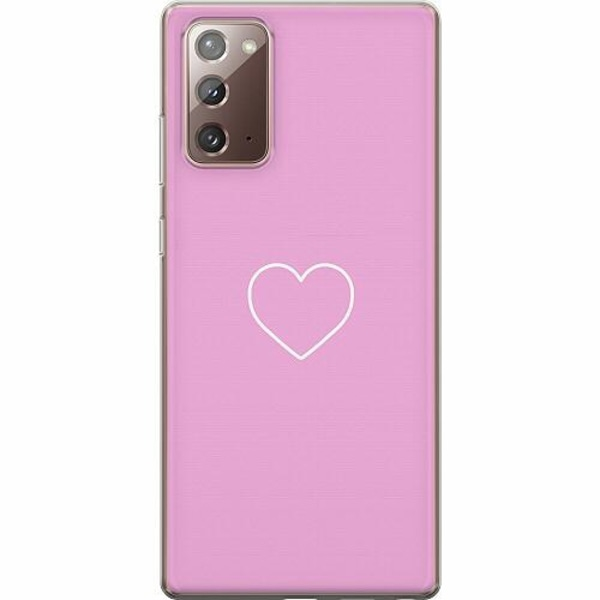 Samsung Galaxy Note 20 TPU Mobilskal Hjärta