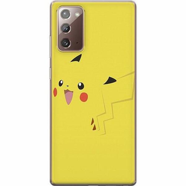 Samsung Galaxy Note 20 TPU Mobilskal Pokémon: Pikachu