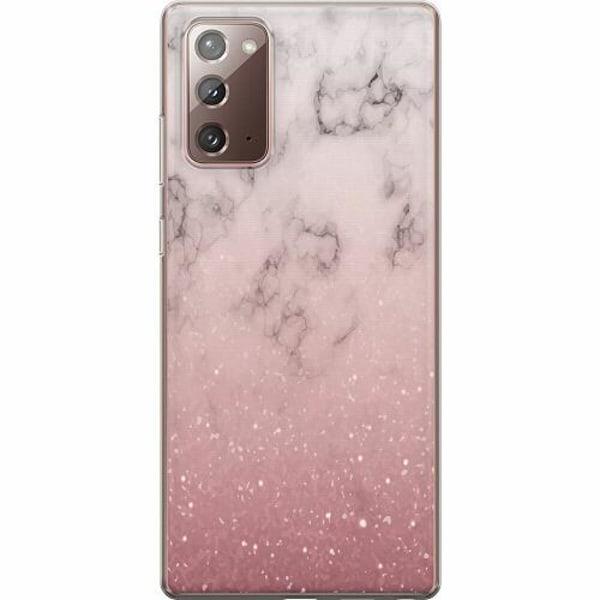 Samsung Galaxy Note 20 TPU Mobilskal Rosa