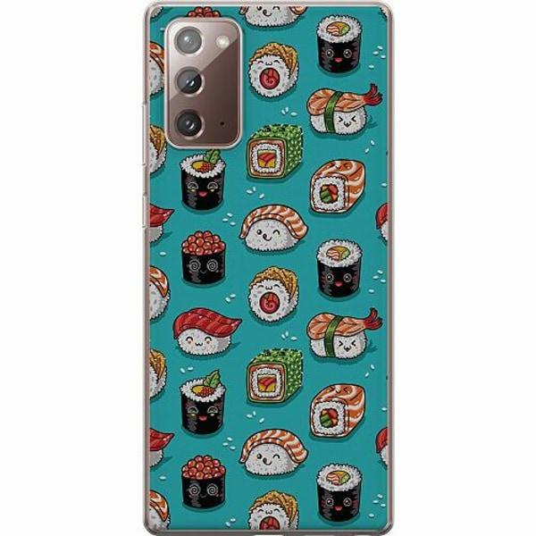 Samsung Galaxy Note 20 TPU Mobilskal Sushi Sweeties