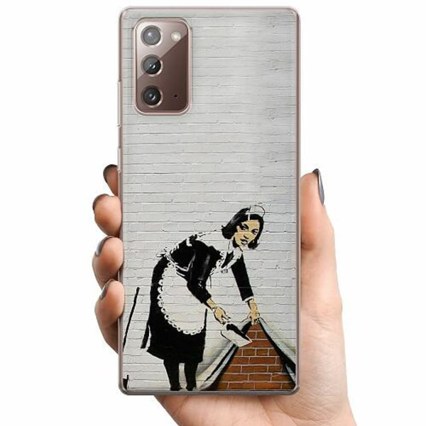 Samsung Galaxy Note 20 TPU Mobilskal AR>T