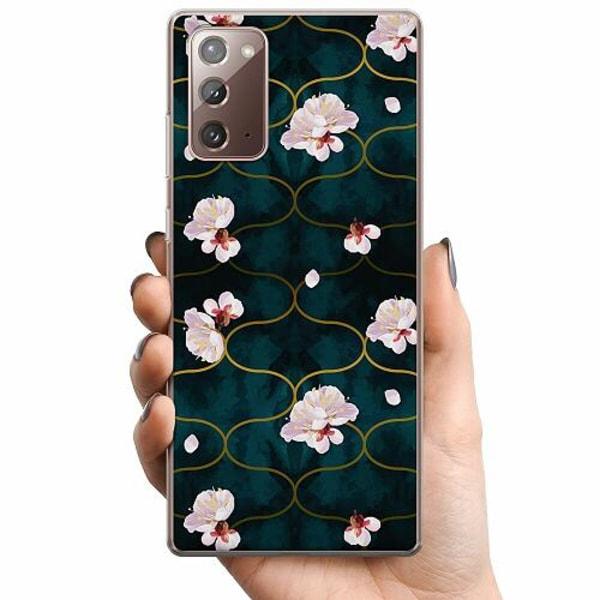 Samsung Galaxy Note 20 TPU Mobilskal Blommor