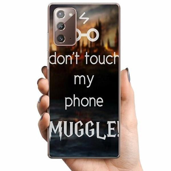 Samsung Galaxy Note 20 TPU Mobilskal Harry Potter