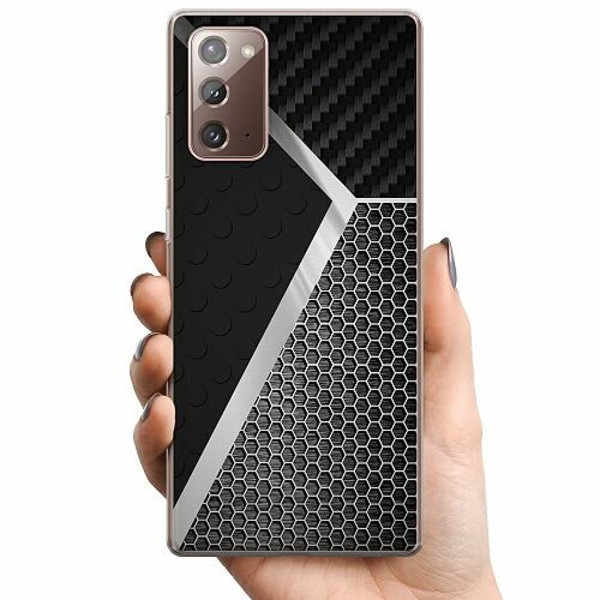Samsung Galaxy Note 20 TPU Mobilskal Metallic Pattern