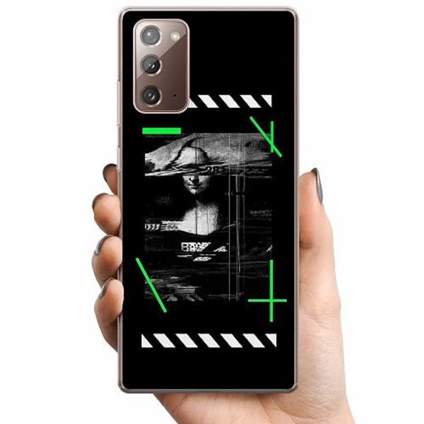 Samsung Galaxy Note 20 TPU Mobilskal Mona L