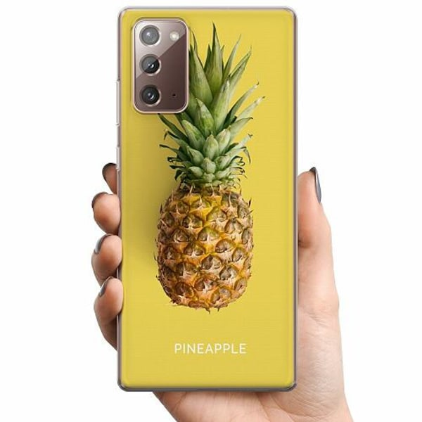 Samsung Galaxy Note 20 TPU Mobilskal Not A Pine Nor A Fruit