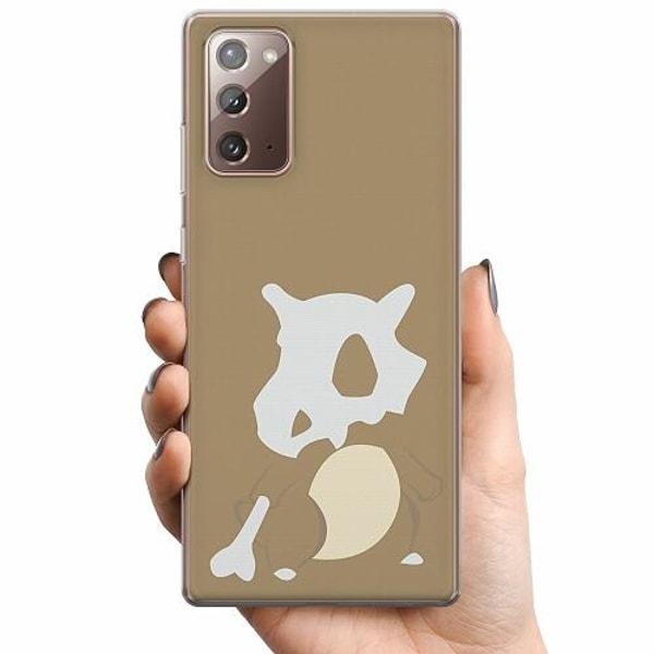 Samsung Galaxy Note 20 TPU Mobilskal Pokémon - Cubone
