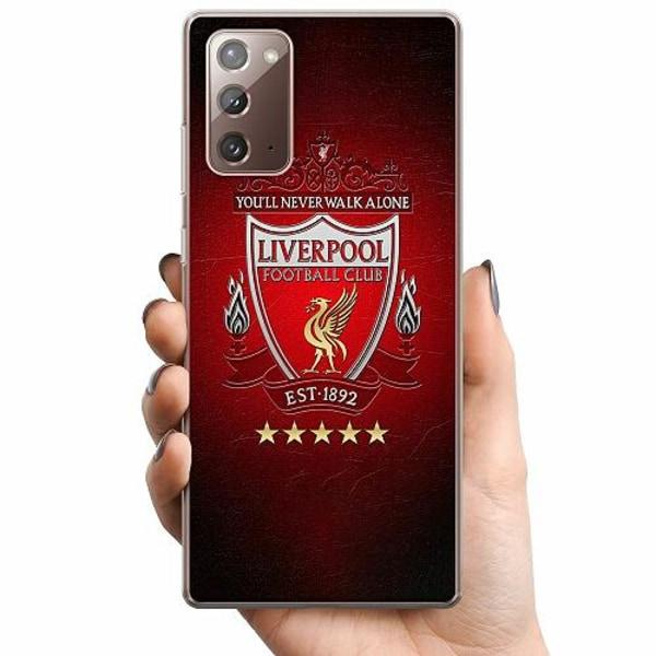 Samsung Galaxy Note 20 TPU Mobilskal YNWA Liverpool