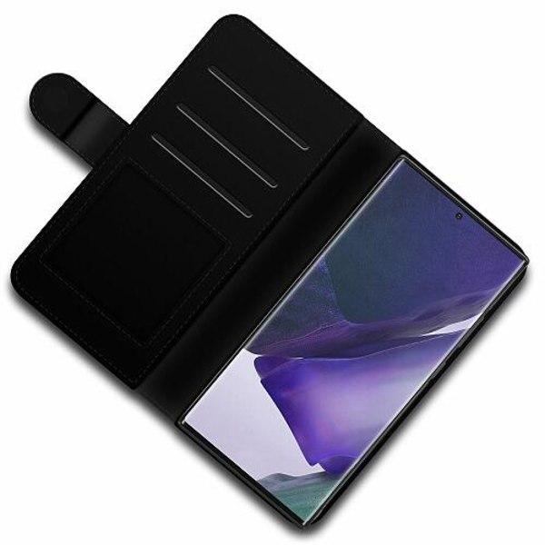 Samsung Galaxy Note 20 Ultra Lyxigt Fodral MineCraft Rainbow