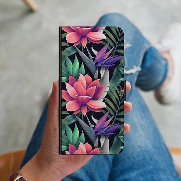 Samsung Galaxy Note 20 Ultra Plånboksskal Blommor