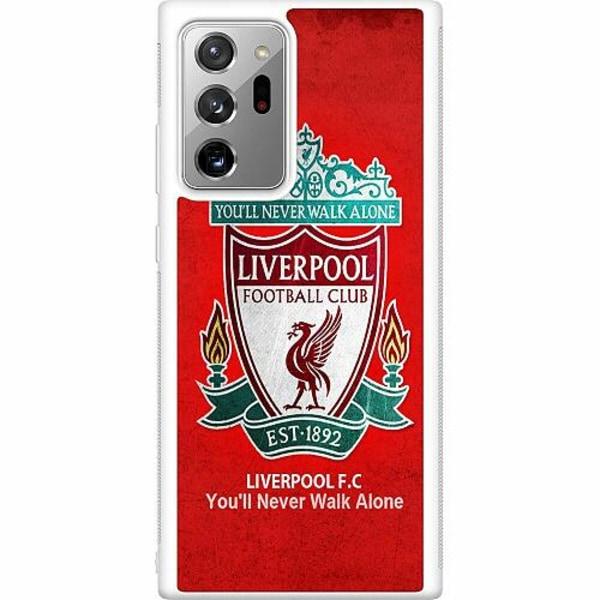 Samsung Galaxy Note 20 Ultra Soft Case (Vit) Liverpool