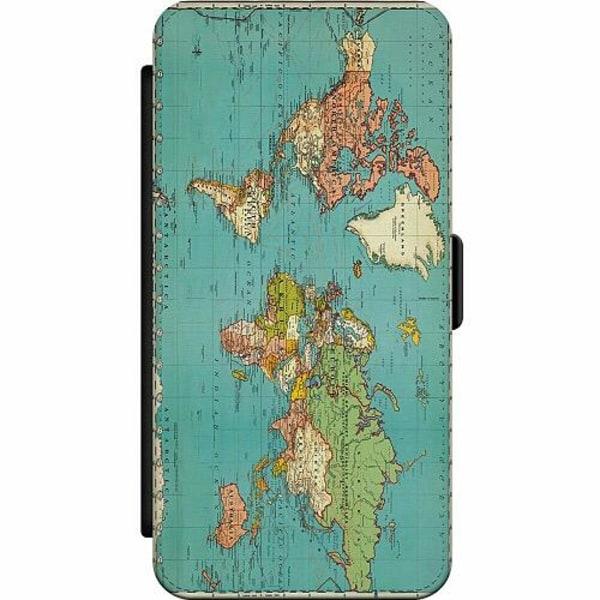 Samsung Galaxy S7 Skalväska World Map