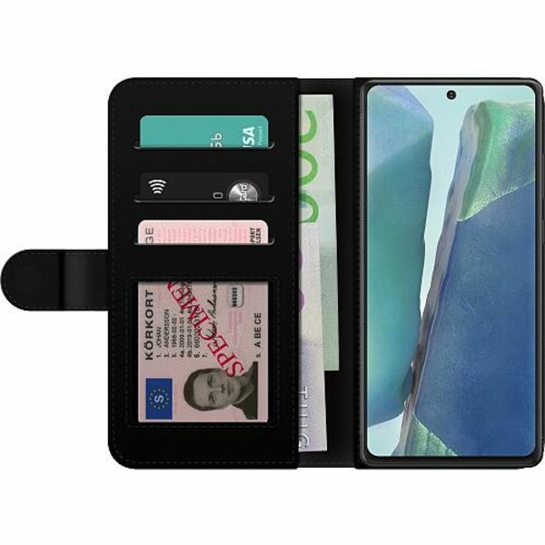Samsung Galaxy Note 20 Wallet Case Metallic Pattern