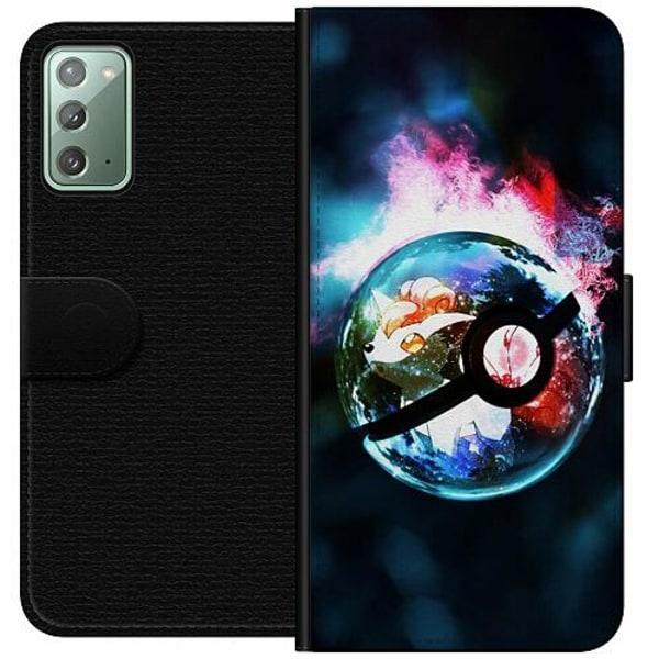 Samsung Galaxy Note 20 Wallet Case Pokemon