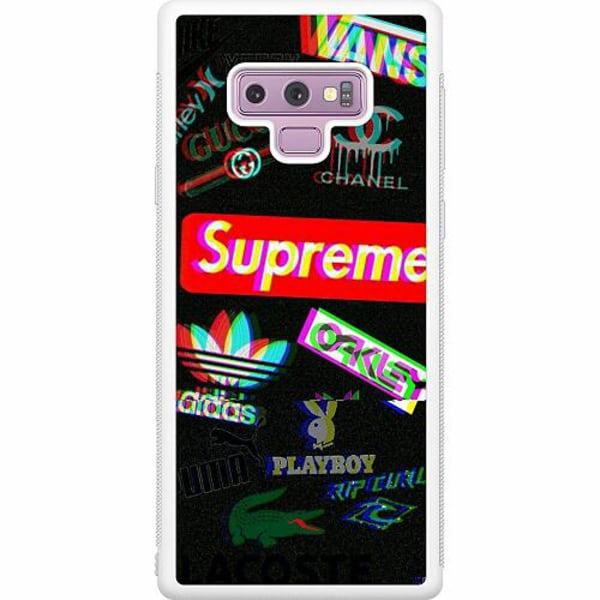 Samsung Galaxy Note 9 Soft Case (Vit) 3D
