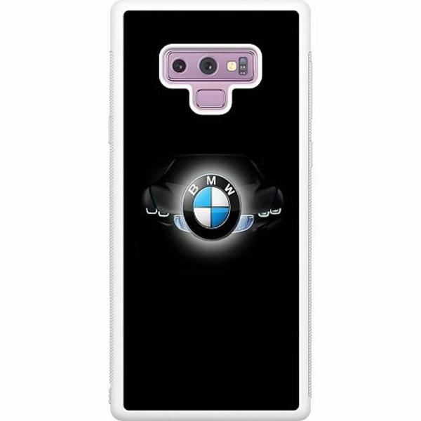 Samsung Galaxy Note 9 Soft Case (Vit) BMW