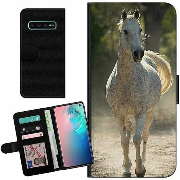 Samsung Galaxy S10 Billigt Fodral Häst / Horse