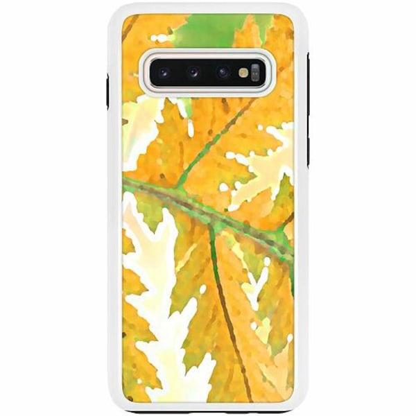 Samsung Galaxy S10 Duo Case Vit Autumn Left