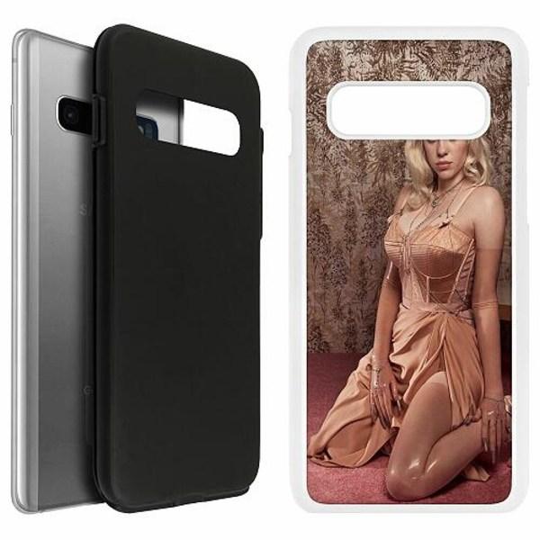 Samsung Galaxy S10 Duo Case Vit Billie Eilish 2021