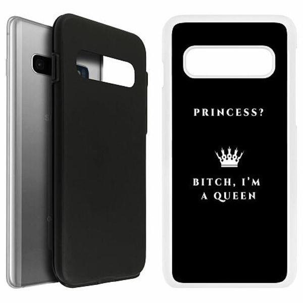 Samsung Galaxy S10 Duo Case Vit Bitch I´m A Queen