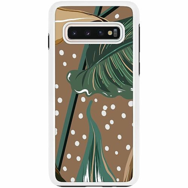 Samsung Galaxy S10 Duo Case Vit Browness