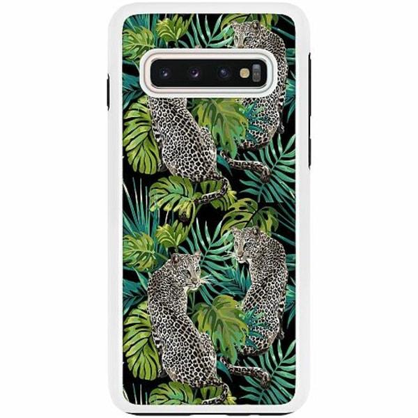 Samsung Galaxy S10 Duo Case Vit Djur