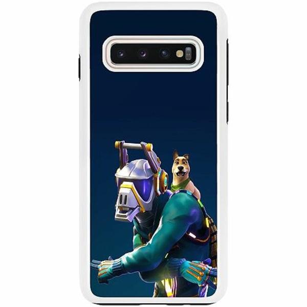 Samsung Galaxy S10 Duo Case Vit Fortnite Dj Yonder