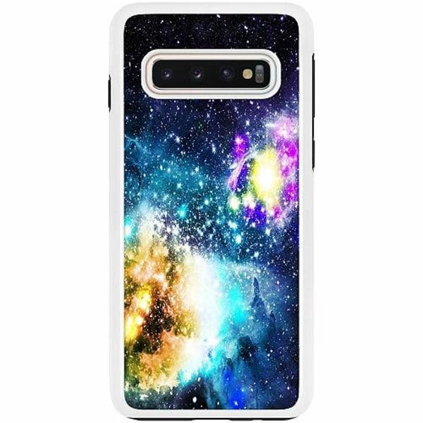 Samsung Galaxy S10 Duo Case Vit Galaxy