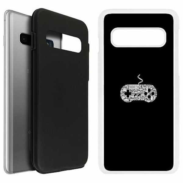 Samsung Galaxy S10 Duo Case Vit Games