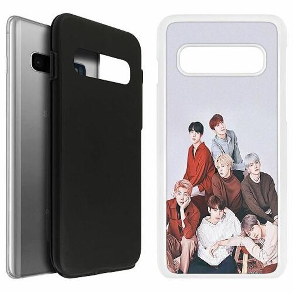 Samsung Galaxy S10 Duo Case Vit K-POP BTS