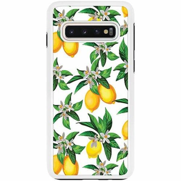 Samsung Galaxy S10 Duo Case Vit Lemonical