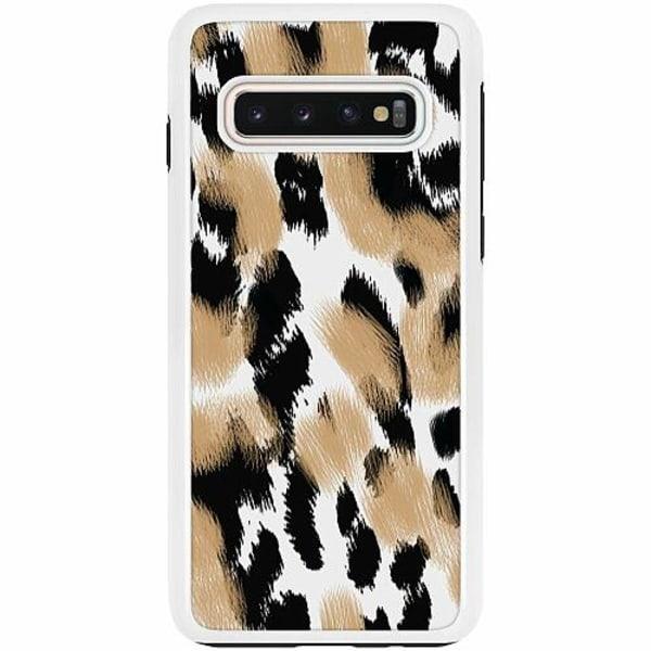 Samsung Galaxy S10 Duo Case Vit Leoless
